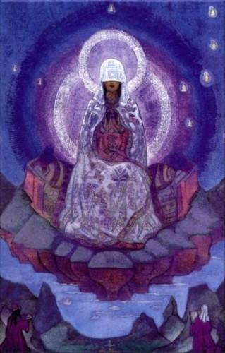 «Матерь Мира» картина Николая Константиновича Рериха