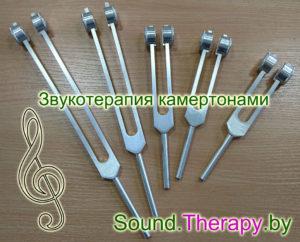 Базовый набор камертонов для звукотерапии