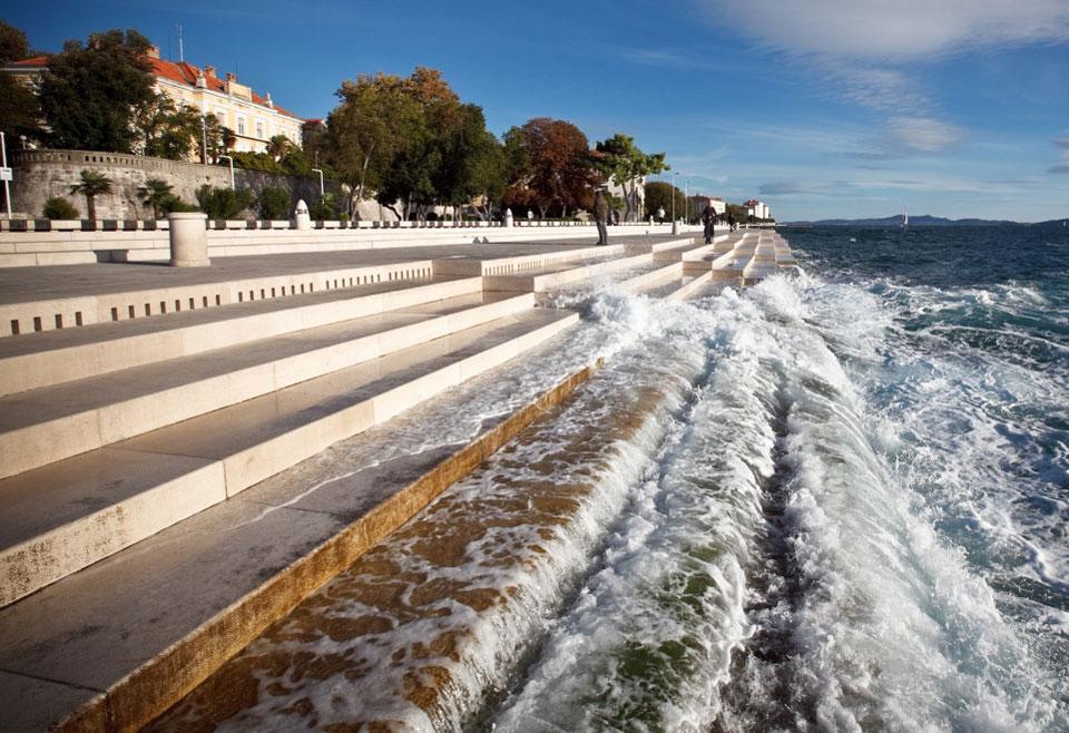Морской орган, Задар, Хорватия