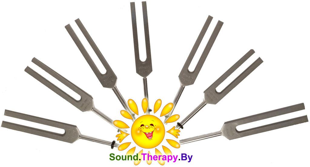 DNA tuning-forks SoundTherapy камертона для настройки ДНК